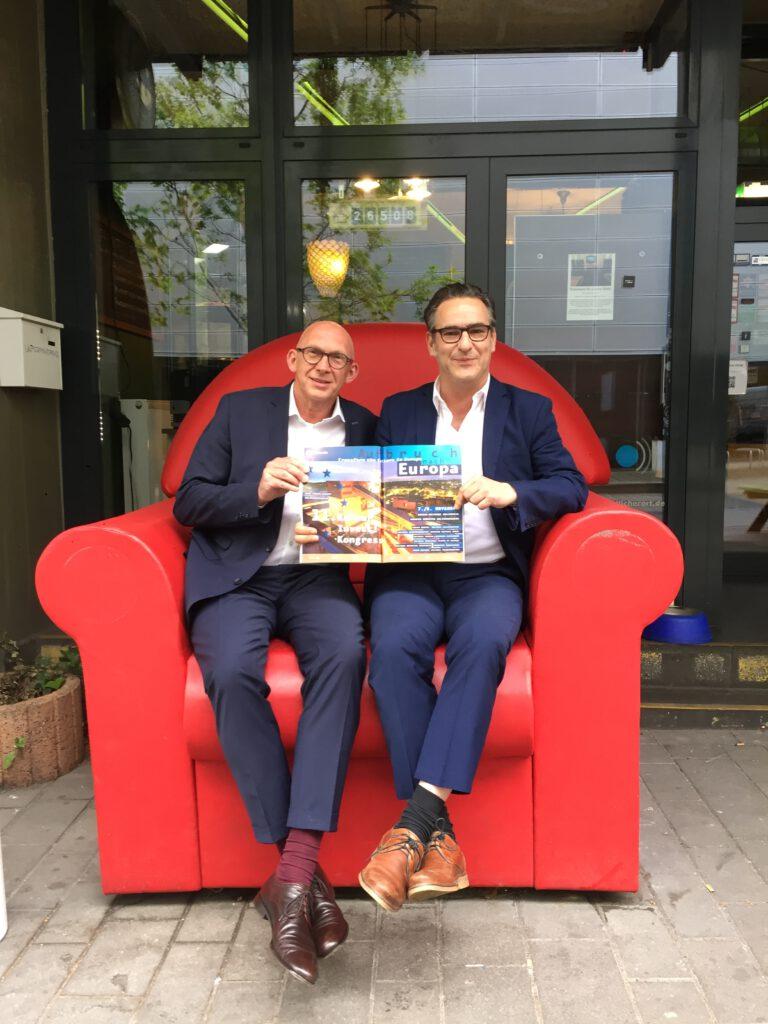 Bernd Bickhove - Berufliche Stationen: Vertragsverhandlung KulturInvest!-Kongress 2019