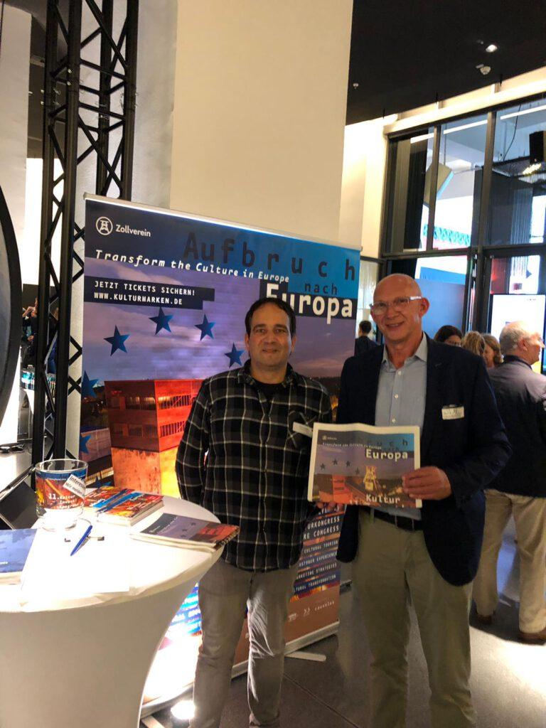 Bernd Bickhove - Berufliche Stationen: Präsentation KulturInvest!-Kongress 2019