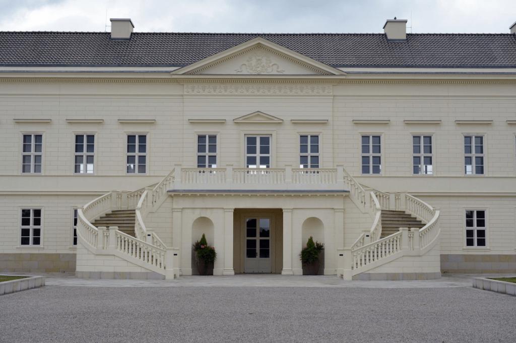 Gartenansicht Schloss Herrenhausen