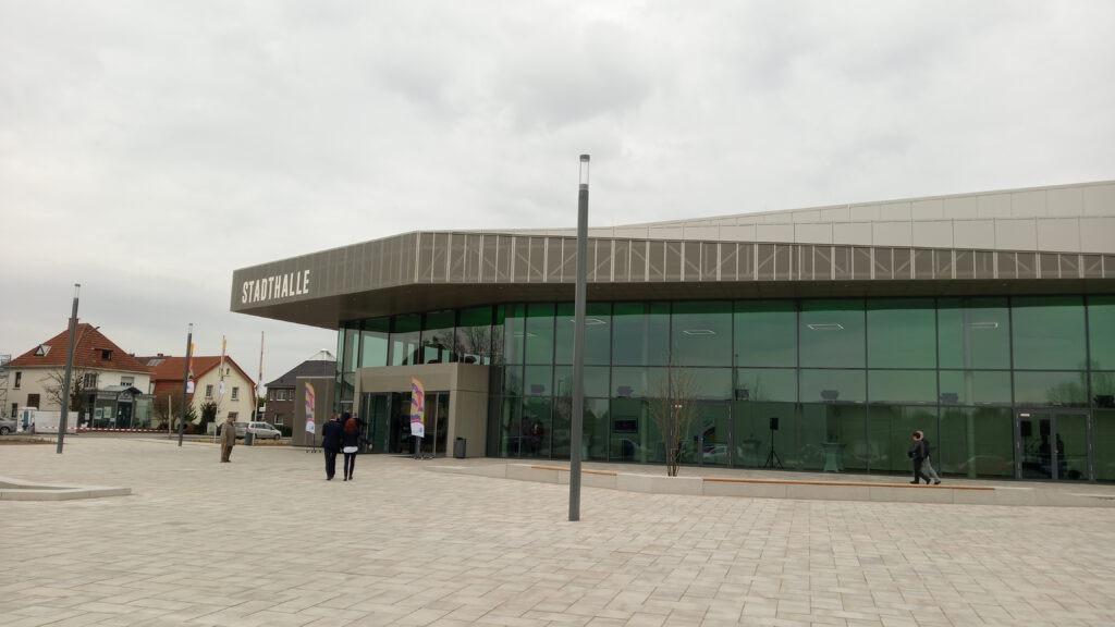 Ansicht Stadthalle Rheda-Wiedenbrück